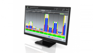 Display with web portal